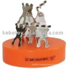 Sculptures magnétiques de travail d'équipe