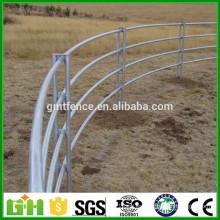 Trade Assurance tubo cuadrado / tubería redonda paneles de corral / cercado de caballo galvanizado