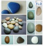 Hot sale artificial clobblestone 12 Shapes Plastic composite polished pebbles