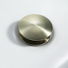 Brushed Gold Pop up Drain Bathroom Basin Drain