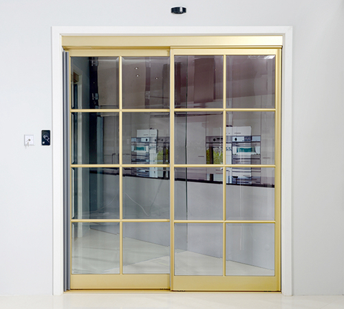 Interactive Sliding Doors for Small Space Partitions