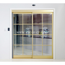 Interior Glass Automatic Sliding Door Systems