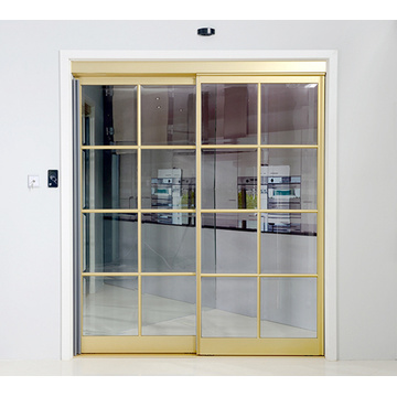 Automatic Sliding Doors with Interactive Door Leaves