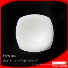 Massen von China Porzellan billig Porzellan weiß Platte kaufen