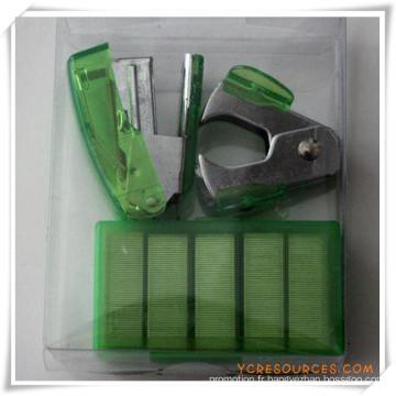 Set de papeterie de boîte de PVC pour le cadeau promotionnel (OI18004)