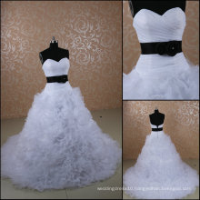 JJ3073 Sweetheart Ball Gown Alibaba long trail wedding dress Made in China 2014
