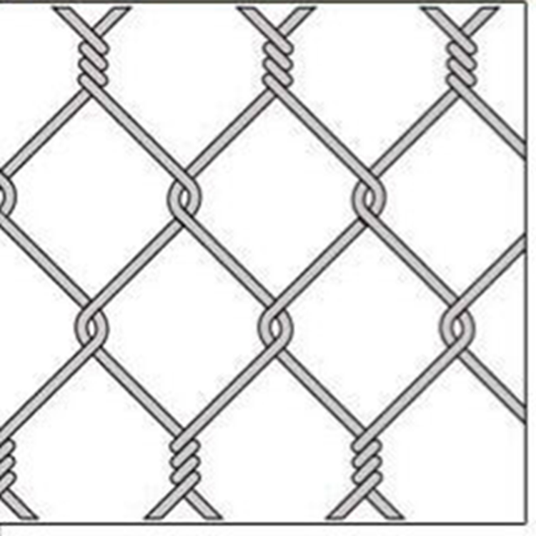 chain link fence twist