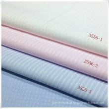 Tecido de algodão poliéster para camisa em estoque