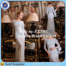 hot sale heavy beading see through wedding dresses in dubai