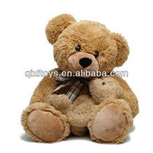 Cadeaux de fête des mères en peluche mère et fils ours