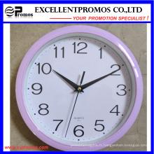 Horloge murale en plastique ronde imprimée (Item1)