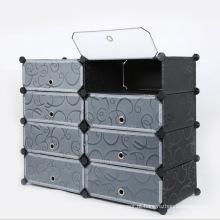 DIY plástico 3 cores disponíveis armários de guarda-roupa de moda (zh0013)