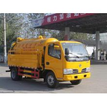 Dongfeng 6CBM Cleaning Vacuum Tank Sucking Truck