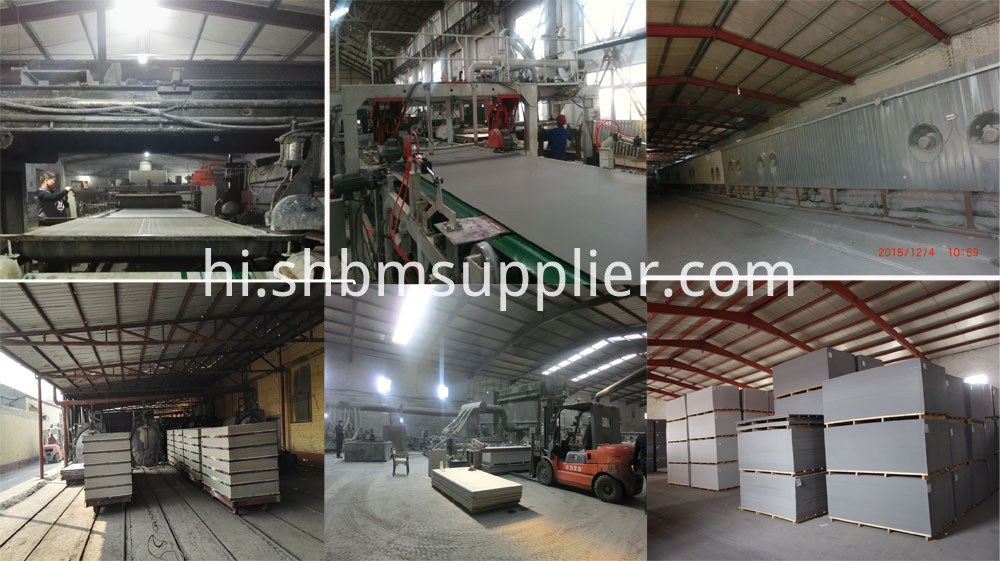 production line of fiber cement board