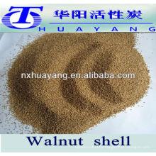 Walnut Shell Sandblasting Abrasive Grades