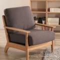 O poliéster 100% de linho gosta das telas home de matéria têxtil para o sofá