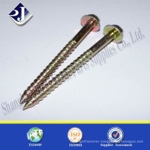 M7 zinc plated HRC25-32 wood screw