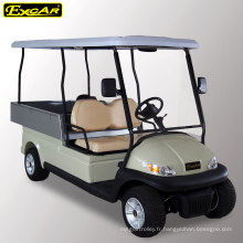 Chariot de golf électrique avec cargaison