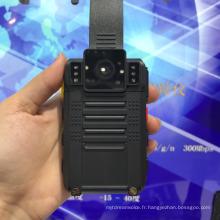 L'appareil-photo porté par corps visuel de la police de HD 1080P facultatif avec le WiFi GPS 3G 4G