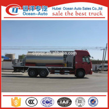 Tipo de conducción 6 * 4 HOWO Diesel Engine Asphalt Spraying Truck