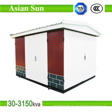 400kVA 630kVA europeo tipo subestación caja tipo centro de transformación