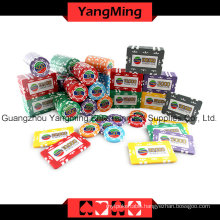 High-Grade Sticker Poker Chip Set 760PCS (YM-TZCP0045)