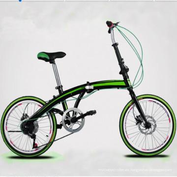 """Bicicleta / Bicicleta Plegable De Aleación De Aluminio De 20 """""""