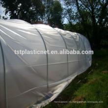 Película de invernadero para cubierta agrícola / 200 película de plástico de invernadero micro agrícola con protección UV