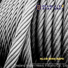 Cuerda de alambre de acero con SGS (HLCM)