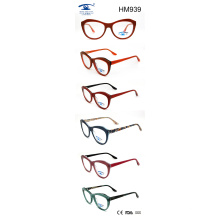 2017 New Arrival Colorful Lady Optiacal Frame Acetate Eyewear (HM939)