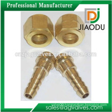 New style most popular Brass chrome plated nipple with compression nut