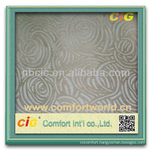 Polyester Colorful Jacquard Curtain Soft Fabric