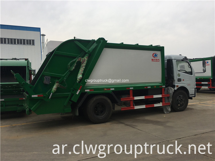 Garbage Collector Truck4