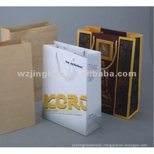 Paper Handbag Bottom Gluing Machine