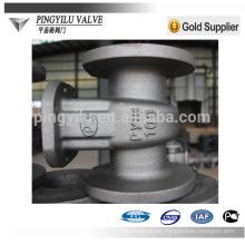 Russia standard rising stem flanged cast steel pn16 gas pipeline gate valve factory
