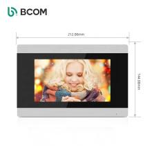 Bcom 7 inch color screen Long Range Wireless Video Intercom with smartphone app control