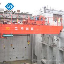 Elektrischer Doppelstrahl / Träger-Überkopf- / Brückenkran QE, zwei Laufkatzen