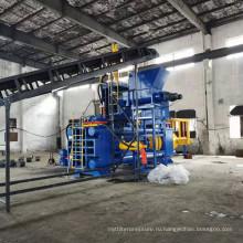 Горизонтальный пресс для брикетирования стружки 1250 тонн