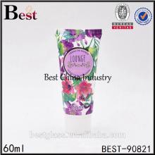 NEUE 60ml 2oz Kunststoffrohr mit Schraubverschluss für Cremeverpackungen China