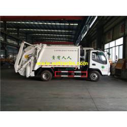 6cbm JAC Docking Rubbish Trucks