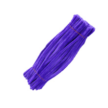 Factory direct sale 30cm*9mm colorful diy pipe cleaner craft chenille stem for kids