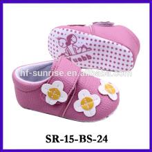 Новый продукт розовый новорожденный ткани ребенка обуви