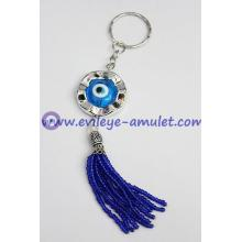 Israel hand evil eye keychain, evil eye beads wholesale
