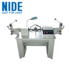 Two flier semi-auto armature coil winding machine
