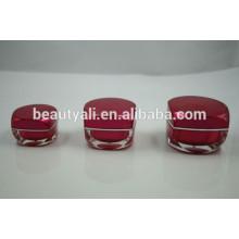 5g 15g 30g 50g novo estilo plástico quadrado plástico acrílico cosméticos embalagem frasco