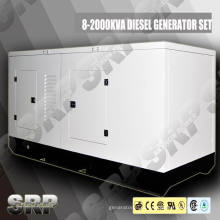 Gerador de diesel a prova de som de 230kVA e 50Hz Powered by Perkins (SDG230PS)