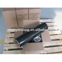 горячая продажа черная пленка черная стрейч пленка ручная стрейч пленка для коробки или Упаковка Паллета