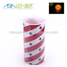 Led Candle Light avec Star Decal