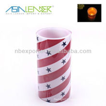 Led Candle Light with Star Decal