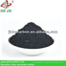Wood based activated carbon for soil improvement